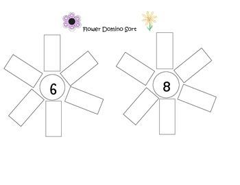 Flower Domino Sort