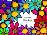 Flower Doodle Clip Art - 21 Images