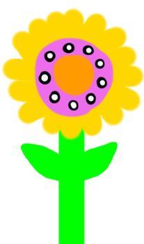 Flower Doodles II - Clipart