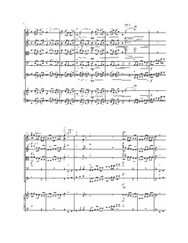 Flower Duet from Lakme's Opera for String Orchestra, sheet music