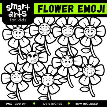 Flower Emoji Clip Art