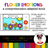 Flower Emotions A Comprehension Adapted Book