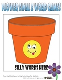 Flower FINAL E Word Games - Sorting Game & Continuous Flash Card Game