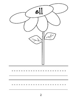 Flower Families: Word Family Practice