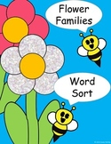Flower Families Word Sort