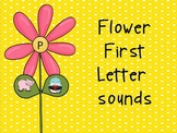 Flower First Letter Sounds
