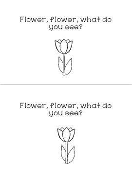 Flower, Flower, What Do You See?