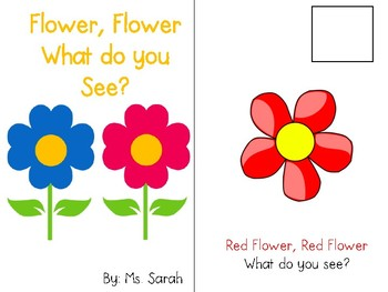 Flower, Flower-What Do You See?_Adapted Book