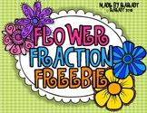 Flower Fraction Freebie {A Fraction Craftivity}