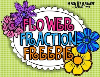 Flower Fraction Freebie {A Fraction Craftivity}