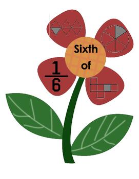 Flower Fractions Puzzle