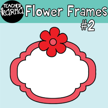 Flower Frames #2 Graphics