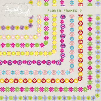 Flower Frames 3