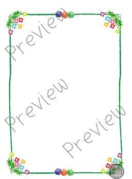 Flower Frames / Borders