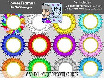 Flower Frames {Circle}