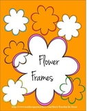 Flower Frames and Borders for Commercial Use