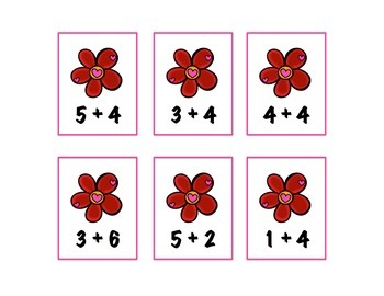Flower Frenzy! Addition Concentration Game