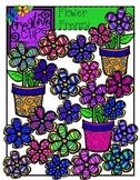 Flower Frenzy {Creative Clips Digital Clipart}