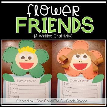 Flower Friends Writing Craftivity