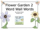 Flower Garden 2 Word Wall Words