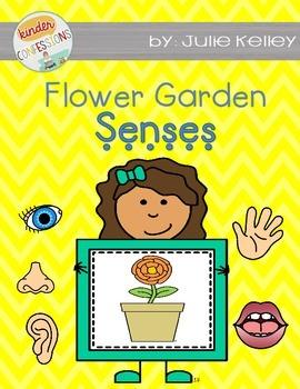 Flower Garden Craftivity with the Five Senses {FREEBIE}