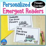 Flower Garden Emergent Readers