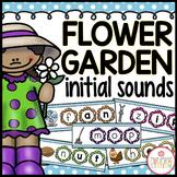 Flower Garden Initial Sound FREE Literacy Center