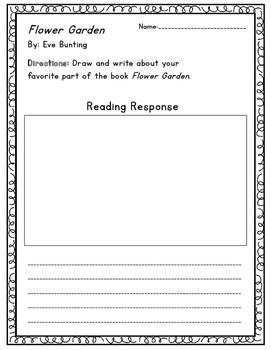 Flower Garden Reading Response