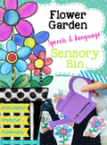 Flower Garden Speech & Language Sensory Bin