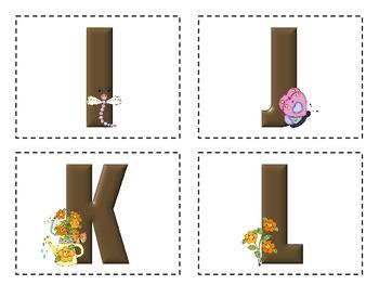 Flower Garden Word Wall Words
