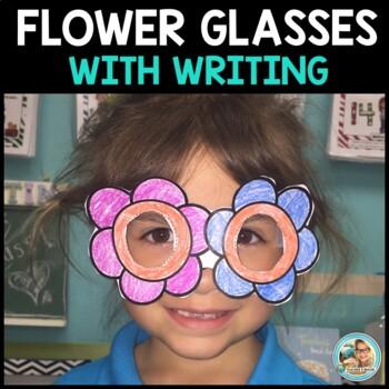 Flower Glasses Craft - Plants Unit Kindergarten First Grade