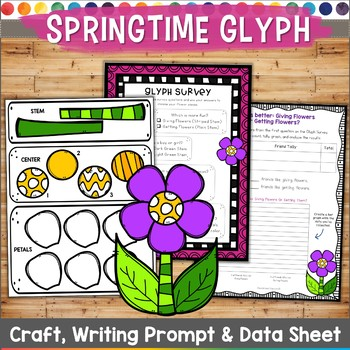 Flower Glyph  Springtime Activities