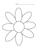 Flower Graphic Organizer- Details (Depth and Complexity)