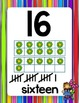 Flower Kids Classroom Number Line (0-20)