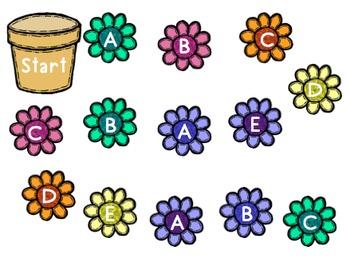 Flower Land: A Beginning Alphabet Game