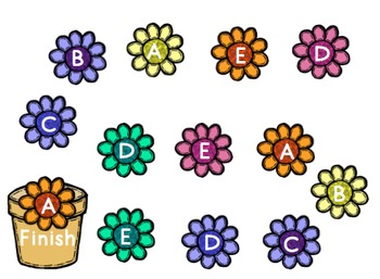 Flower Land: A Beginning Alphabet Game