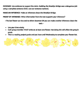 Flower Leis Reading Review