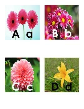 Flower Letter Match