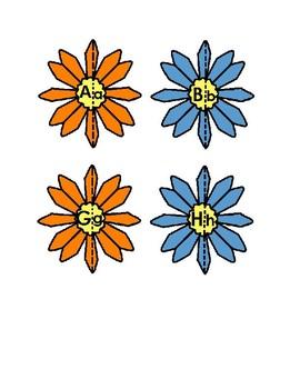 Flower Letter Puzzles