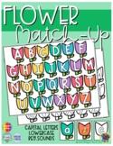 Flower ABC Match-Up (Sensory Bin Mat)