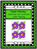 Flower Matching- Uppercase and Lowercase Letter Matching
