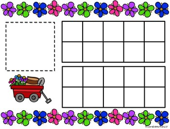 Flower Math Counting-A Fun Number Sense Activity