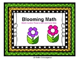 Flower Math Numbers Match