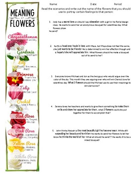 Flower Meanings- Floral Design, Horticulture, Agriculture Science