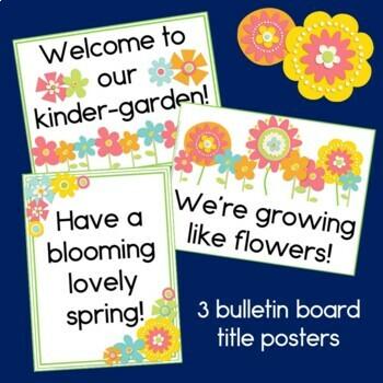 Flower Measurement Back to School Activity