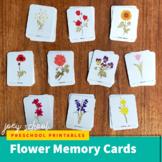 Flower Memory Cards