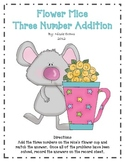 Flower Mice Three Number Addition