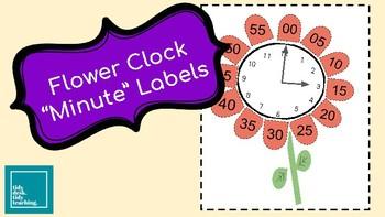 "Flower ""Minute"" Labels"
