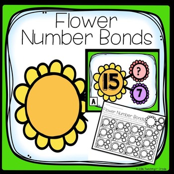 Flower Number Bonds- Write the Room