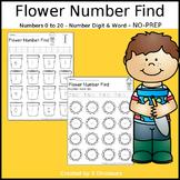 Flower Number Find